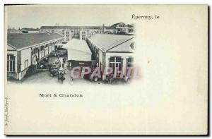 Old Postcard Folklore Wine Vineyards Champagne Moet et Chandon Station & # 39...
