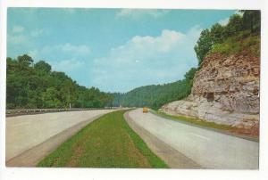 KY Kentucky Turnpike Highway Route I-65 Vtg 1956 Curteich Postcard K1997