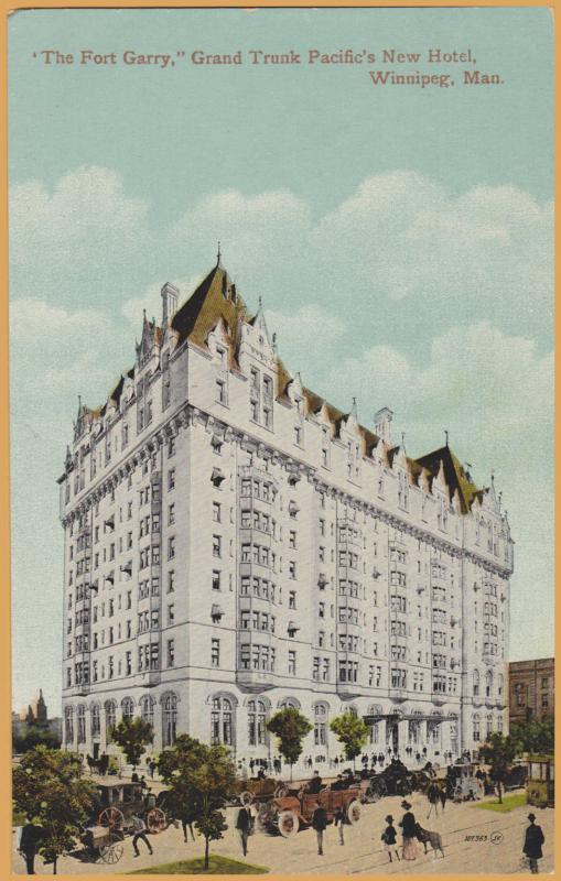 Winnipeg, Manitoba-The Fort Garry, Grand Trunk Pacific's New Hotel -