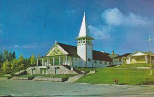 Roman Catholic Church CHRIST THE KING , MANIWAKI , Quebec , Canada , 1989