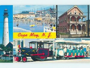 Unused Pre-1980 FOUR VIEWS ON CARD Cape May New Jersey NJ ho7914