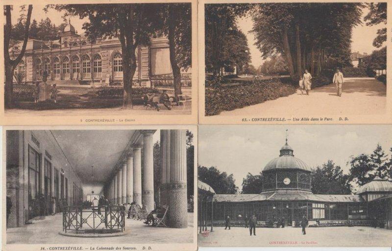 CONTREXEVILLE VOSGES (DEP.88) 250 Cartes Postales 1900-1940