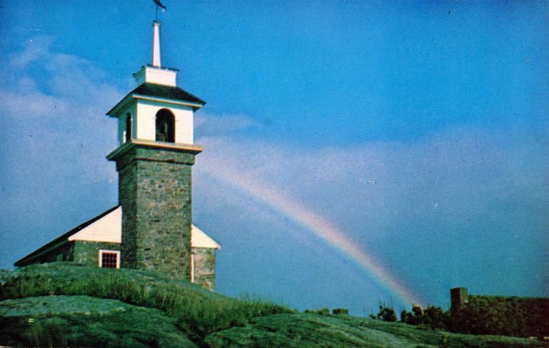 NH - Isles of Shoals. Star Island, Old Gosport Church, Interior