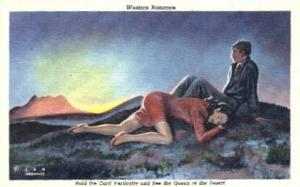Western Romance - Misc, Arizona AZ Postcard