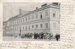 Gruss aus HETZENDORF , Austria, PU-1899 ; Marianneum