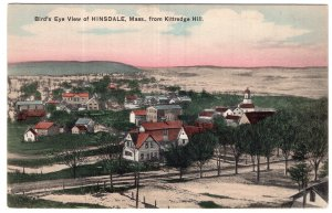 Bird's Eye View of Hinsdale, Mass, from Kittredge Hill