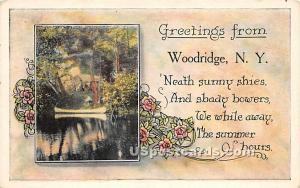 Greetings from Woodridge NY Unused
