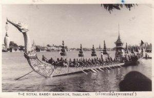 G5313 Thailand, Bangkok Royal Barge Photo Postcard
