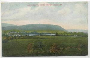 Susquehanna River Bridge, Ulster, Pennsylvania, PU-1907
