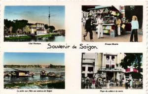 CPA VIETNAM Souvenir de SAIGON (86060)