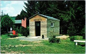 SILVER LAKE, WV West Virginia  Smallest MAILING OFFICE (PO?)   c1950s   Postcard