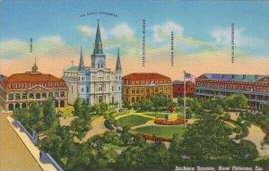 Jackson Square New Orleans Louisiana