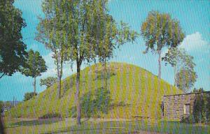 The Grave Creek Mound Moundsville West Virginia