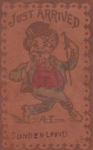 SUNDERLAND , Ontario , Canada , 00-10s ; Leather Postcard