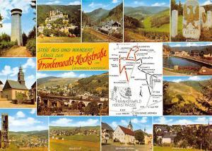 Frankenwald Hochstrasse multiviews Buchbach Falkenstein Rothenkirchen Tettau