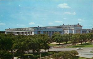 Chicago, Illinois, IL, Natural History Museum, Chrome Vintage Postcard d5175