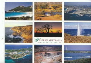Western Australia Postcard - Views - Land of Contrast  AB1783