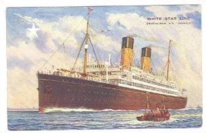 Oceanliner/Ship/Steamer, White Star Line, Twin-Screw S. S. Doric, 16,484 To...