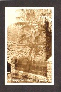 CA Warner Hot Springs San Diego County California Pool Postcard Real Photo RPPC