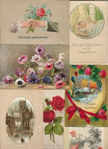 Happy Birthday Flowers and more Postcard Lot of 20  01.17