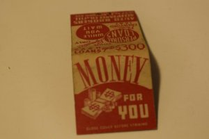 Auto Brokers Acceptance Co. of Illinois Advertising 20 Strike Matchbook Cover