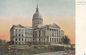 Exterior, State Capitol, Atlanta, Georgia, 00-10s