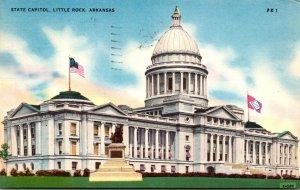 Arkansas Little Rock State Capitol 1956