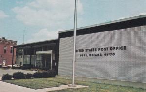 PERU , Indiana, 50-60s, Post Office