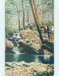 Divided-Back EMERALD POOL AT MOUNTAIN PARK Ossipee - Near Laconia NH H3989