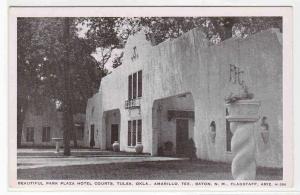 Park Plaza Hotel Courts Tulsa Oklahoma 1947 postcard