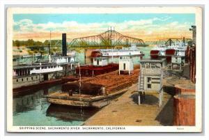14773  CA Sacramento  River SCene