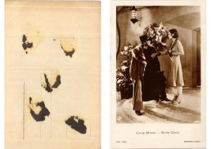 CPA Billie Dove- Clive Brook. Ross Verlag foto 5458/1 FILM STAR (559593)