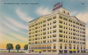 Mississippi Gulfport The Markham Hotel