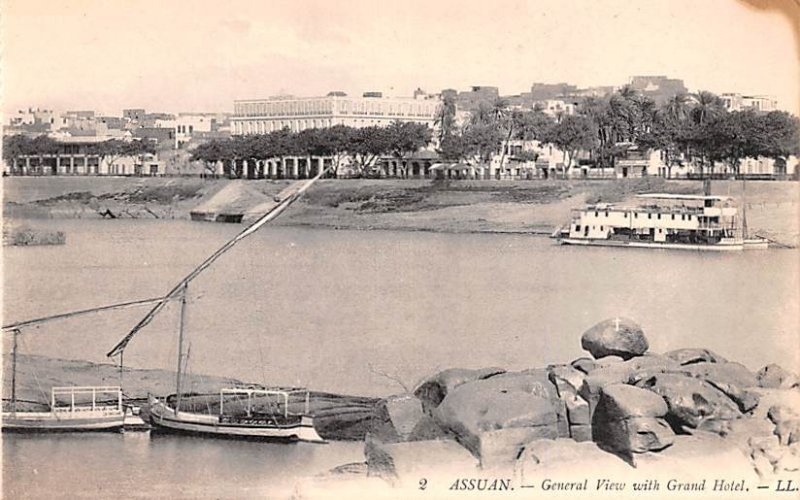 General View with Grand Hotel Assuan France Unused