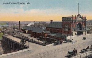 OMAHA, Nebraska, 00-10s ; Union Railroad Station