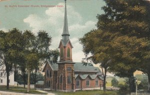 BRIDGEWATER , Connecticut, 1900-10s ;  St. Mark's Episcopal Church