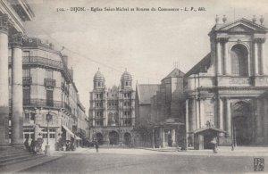 DIJON , France , 00-10s ; Eglise Saint-Michel et Bourse du Commerce