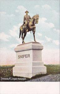 New York Syracuse Sniper Monument