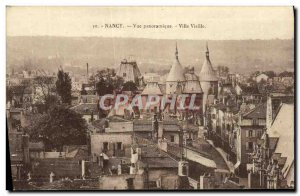 Old Postcard Nancy Panoramic View Old Town