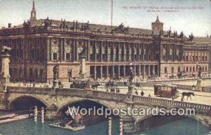 Berlin Germany, Deutschland Postcard Board of Trade and Friederichs Bridge  B...