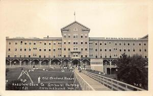 Old Orchard Beach ME Old Orchard House RPPC Postcard