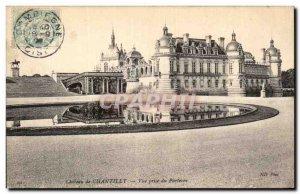 Old Postcard Chateau de Chantilly View parterre Jack