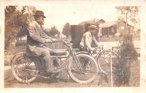 Real Photo  Excelsior Auto Cycle