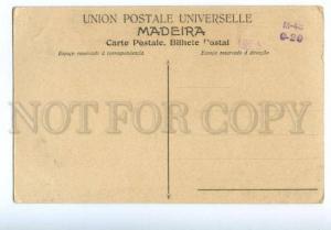 133028 PORTUGAL MADEIRA Costumes Vintage postcard