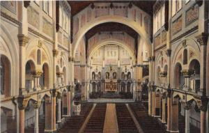massachusetts Fall River, Interior of St. Ann's Church