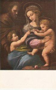 Rafael. La Virgen de la Rosa Fine painting, vintage Spanish postcard