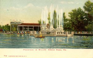 PA - Willow Grove Park, Fountain