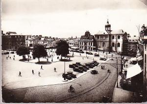 France - Le Mans Place de la Republique 1944 Real Photo
