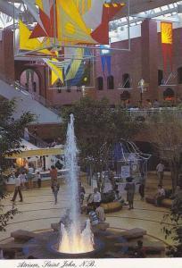 Atrium, Interior of Market Square, Saint John, N.B.,  Canada, 40-60s