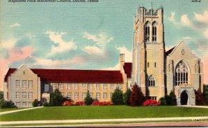 Texas Dallas Highland Park Methoist Church